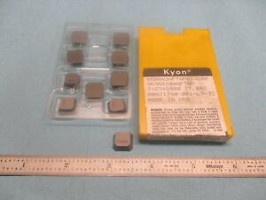 10pcs Kennametal Sean 43a Ftnpky 3500 316948 R00 Inserts Machine Shop Tools