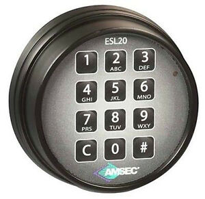 Amsec Esl20xl Digital Safe Lock Replace S g 6120 305 Lagard Basic Ii Pro