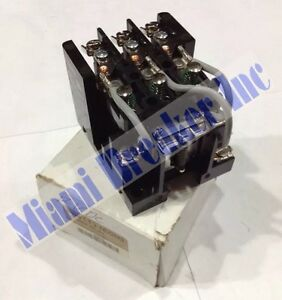 1egh3 Dayton Power Relay 12v new