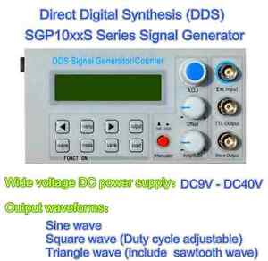 2mhz Dds Function Signal Generator Module Sine triangle square Wave