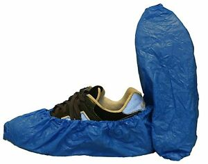 Safety Zone Waterproof Co polymer Shoe Covers Xl Case Of 300 dsc cpe xl bl