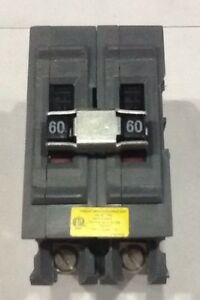 A260ni Wadsworth Circuit Breaker 2 Pole 60 Amp 120 240v new