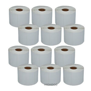 12 Roll 2 25 x1 25 Direct Thermal Barcode Label Zebra Lp2824 Tlp2824 Lp2844