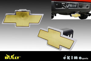 Chevrolet Logo Bully 1 25 And 2 Trailer Towing Hitch Receiver Cover Cr 132wk