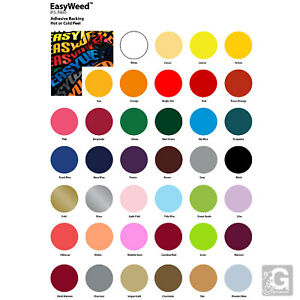 Combo No 5 3 Yards Siser Easyweed 2 Yards Siser Metallic heat Transfer Vinyls