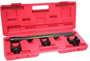 4pc Inner Tie Rod Removal Installation Set Mechanics Kit Dual Tie Rod Auto Tools