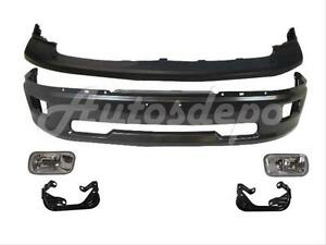 For 2009 2012 Dodge Pickup Ram 1500 Front Bumper Grey Upper Fog Light Bracket 6p