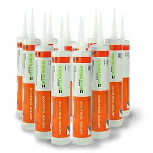 Green Glue Acoustical Sealant Caulk Case 12 Tubes