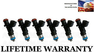 6x Genuine Bosch Fuel Injectors For Dodge Chrysler 2 7l 3 5l 4 0l 0280158028
