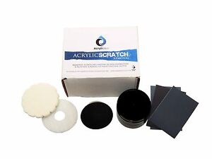 Acryliclear Basic Home Scratch Removal Kit For Acrylic