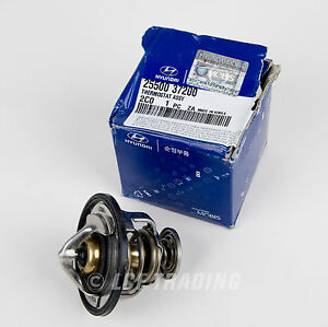 Hyundai Tiburon Tuscani Thermostat Assembly Genuine Oem 25500 37200