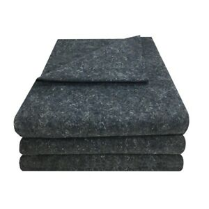 3 Textile Moving Blankets 54x72 Professional Quality Moving Skins 1 66lbs Each