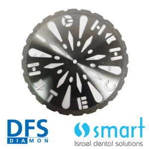 Dental Lab High Tech Dfs Diamon Plaster Cutting Disc 45 Mm Germany