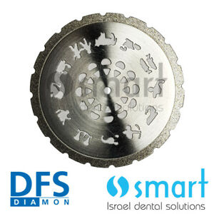 Dental Lab Plastro Dfs Diamon Plaster Cutting Disc 37 Mm