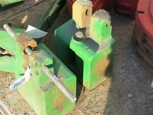 John Deere 2955 4040 Block Weights For Tractors L38452 Stock Jd Fbw
