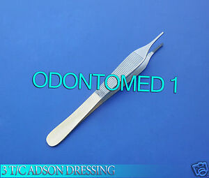 3 T c Adson Dressing Micro Minor Surgery Forceps 4 75 Fine Point Serrated Tip