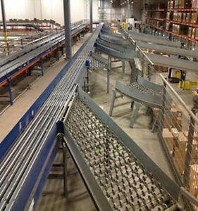 Ermanco Sortation System Nbs Conveyor Left Hand