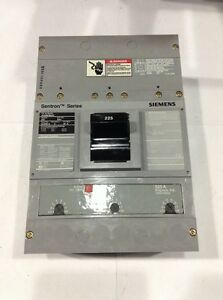 Hjxd63b200 Siemens Circuit Breaker 3 Pole 200 Amp 600v new In Box