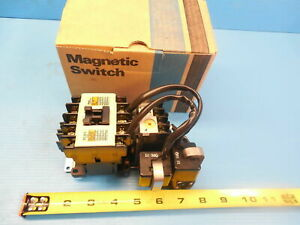 New Fuji Sw 5 1 2l Magnetic Switch Industrial Made In Japan 200 220v