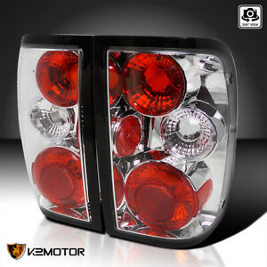 Fit 1993 1997 Ford Ranger Parking Rear Brake Tail Lights Lamps Pair Replacement