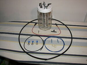 1 Hho Hydrogen Generator Cell Water4gas Complete Kit Has All Parts