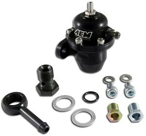 Aem Electronics 25 303bk Fuel Pressure Regulator For Acura Integra Honda Civic