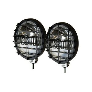 Westin 09 0505 Black 6 Off Road Quartz Halogen Lights W Grid