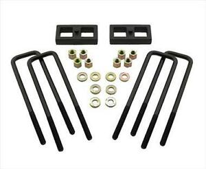 Pro Comp Suspension 58256 2 5 Lift Rear Block Kit For 99 10 Ford F250 350