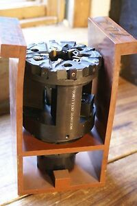Balluff Lumco Hsk100 Mill Milling Cutter With All Carbide Inserts Tool Holder