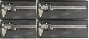 4pc 8 New Hardened Stainlerss Steel Digital Calipers