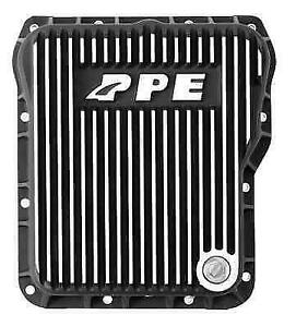 Ppe 128051010 Heavy Duty Brushed Aluminum Deep Transmission Pan For Gm Allison