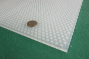 Polypropylene Perforated Sheet 3 16 Thick X 24 X 24 3 16 Dia Hole Stagger