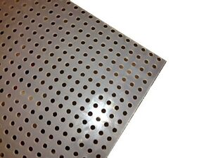 Polypropylene Perforated Sheet 1 8 Thick X 32 X 48 1 4 Dia Hole Straight