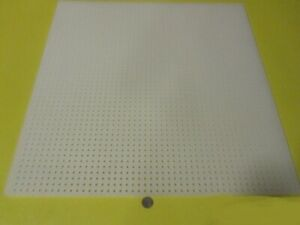 Polypropylene Perforated Sheet 1 4 Thick X 32 X 48 1 4 Dia Hole Straight
