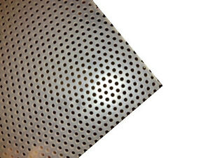 Polypropylene Perforated Sheet 3 16 Thick X 32 X 48 1 8 Dia Hole staggerd