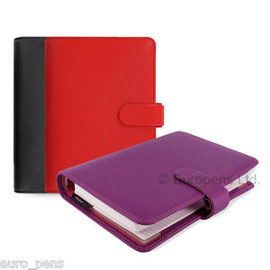 Filofax Saffiano Personal Size Organiser All Colours Available