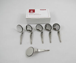 Mirror Dental Fs Double Sided Ds Mir5ds 6 Rhodium Mouth Mirrors 6 Pcs Hu Friedy