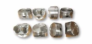 Federal Mogul Set Of 8 400np 030 Engine Pistons For Chevy 400 Engine Size 030
