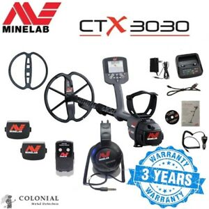 Minelab Ctx 3030 Metal Detector Land And Water Free Shipping