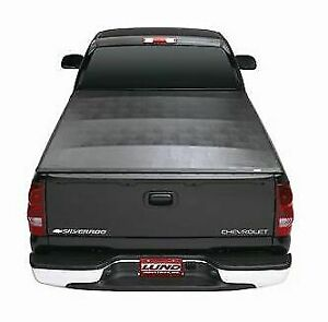 Lund 99090 Black Vinyl Seal And Peel Tonneau Cover For Nissan Frontier 5 Ft Bed
