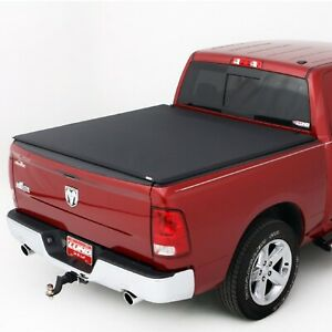 Lund 95865 Black Vinyl Tri fold Tonneau Cover For Dodge Ram ram 1500 5 5 Ft Bed