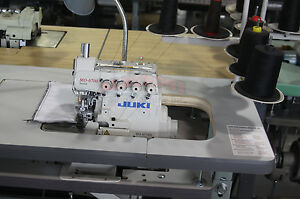 New Juki Mo6704s 3 thread Overlock On Comp W K d Stand Motor merrow Stch