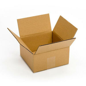 100 Count 8x8x4 Packing Shipping Carton Boxes Free 2 Day Shipping