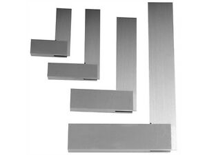 4pcs Machinist Steel Squares Set Include 2 3 4 And 6