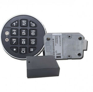 Lagard 39e 1 lp Deadbolt Electronic Digital Safe Lock With Low Profile Keypad