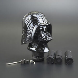 Shift Knob Gear Lever Car Shifter Auto Speeder Manual Type Black Skull Looking