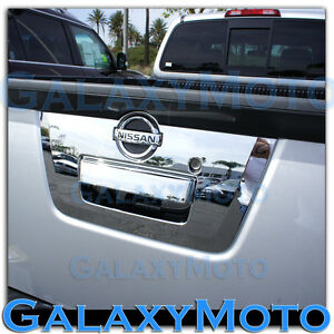 Triple Chrome Plated Full Tailgate Handle Cover 2017 For 13 17 Nissan Frontier