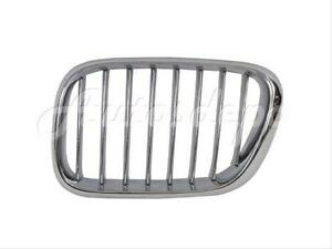 For 2000 2003 Bmw X5 E53 Grille All Chrome Lh
