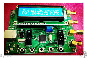 0 50mhz Ad9850 Dual Channel Sine Wave Dds Signal Source Generator pc Software