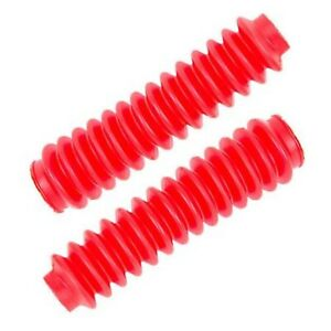 Pro Comp Suspension 12128 Universal Red Poly Vinyl Shock Boot Pair